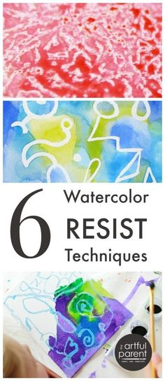 6 Watercolor Resist Techniques to Try