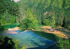 Huanglong 黄龙, Songpan County, Northwest Sichuan.