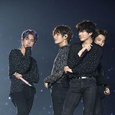 Hyung and his maknae babies