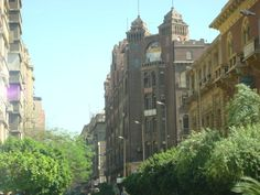 Down town Cairo, Egypt.