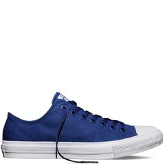 The Chuck Taylor All Star II (Low Top in Sodalite Blue) (Converse)