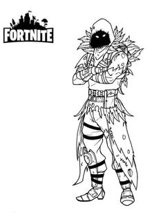 Fortnite Battle Royale Coloring Page Skull Trooper Halloween Party