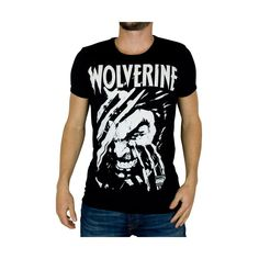 Marvel Comics mens T-shirt Wolverine