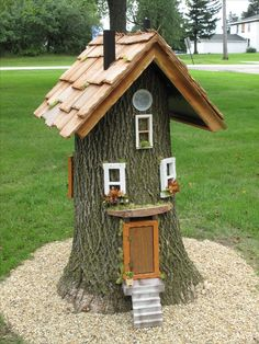 60 Beautiful Small Cottage Garden Ideas for Backyard Inspirations Antique Farmers . - 60 Beautiful Small Cottage Garden Ideas for Backyard Inspirations Antique outdoor farmhouse ladder - Small Cottage Garden Ideas, Garden Cottage, Home And Garden, Garden Leave, Spring Garden, Fairy Tree Houses, Fairy Garden Houses, Fairy Gardens, Garden Art