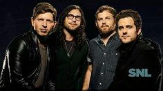 Kings of Leon - Saturday Night Live musical guest - December 2013 Kings Of Leon, Indie, Matthew 1, King Of My Heart, Saturday Night Live, Snl, Always And Forever, Music Love, Cool Bands