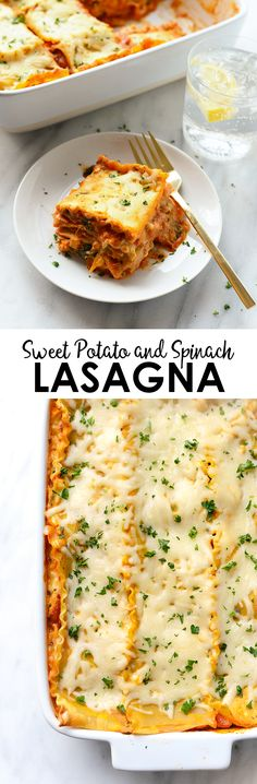 Amp up classic lasagna and pack it full of veggies for a hearty yet healthy dinner recipe that's perfect for Meatless Monday!