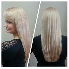 #blonde #longhair #redken