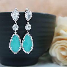 Wedding Jewelry Bridal Earrings by earringsnation, $49.60