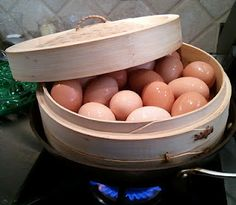 Want perfect, easy to peel hard-cooked eggs? Then give up boiling and steam them instead!