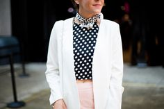 Fashion | NYFW Recap Part 1: Desigual Show, Polka Dots & Fashion Police |