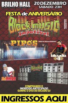 Festa de Aniversário Black Music - Brilho Hall