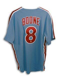 593128e40841b9 Bob Boone Philadelphia Phillies Autographed Majestic Jersey Inscribed '1980  WS Champs'
