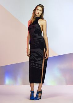Visionary Velvet Dress #NastyGalCollection