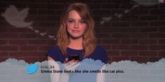 Emma Stone Smells Like What? Stars read mean tweets about themselves