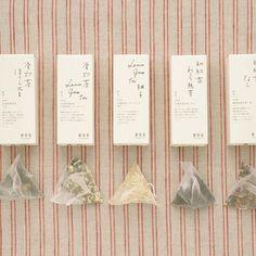 中川政七商店 エムエイチユニット japanese tea package design