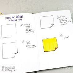 How to Draw Back-to-School Doodles for your Bullet Journal | Chocolate Musings