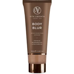 Vita Liberata Body Blur Instant Skin Finisher (100ml) ($43) ❤ liked on Polyvore featuring beauty products