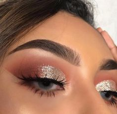 Make up Rosa Lidschatten-Palette Glam Makeup, Formal Makeup, Cute Makeup, Pretty Makeup, Skin Makeup, Eyeshadow Makeup, Beauty Makeup, Eyeshadow Palette, Pink Eyeshadow