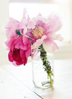 peonies...one of the really really good things in life