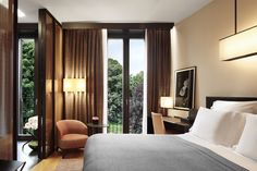 Superior bedrooms, Milan 5 star hotel - Bulgari Hotel Resort