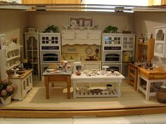 beautiful dollhouse miniature kitchen