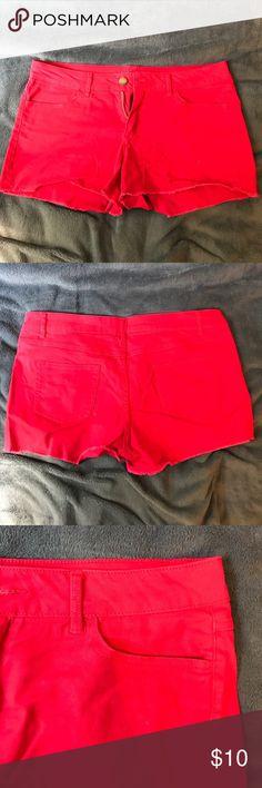 Red shorts Walmart red short shorts. Worn once. walmart Shorts