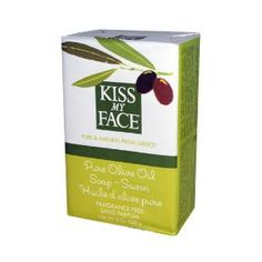 Kiss My Face Olive Oil Bar Soap, Pure Olive Oil, Fragrance Free    Skin Deep® Cosmetics Database   Environmental Working Group
