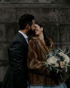 Winter Wedding Fur, Winter Wedding Bridesmaids, Winter Wedding Flowers, Winter Bride, Bridal Beauty, Wedding Beauty, Dream Wedding, Luxury Wedding, Vintage Fur