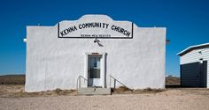 Kenna Community Church, Kenna, New Mexico, USA