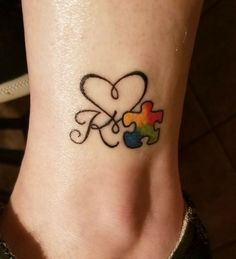 For Kelton Autism Tattoos Awareness Tattoo Autism Awareness Tattoo A Fluid Warrior Can No Lo. Puzzle Piece Tattoo Autism, Puzzle Tattoos, Mom Tattoos, Couple Tattoos, Body Art Tattoos, Small Tattoos, Tatoos, Mother Tattoos, Tattoo Art