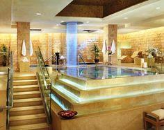 Indoor amazing spa - wow!