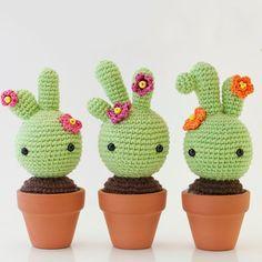 Cactus amigurumi - Free pattern