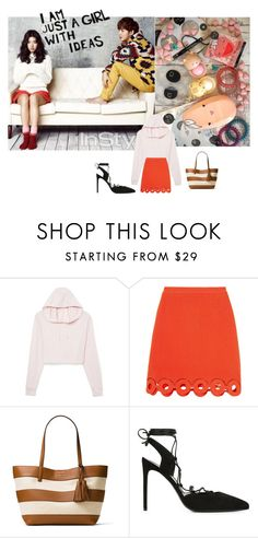 """""""Untitled #1264"""" by angelworlds21 ❤ liked on Polyvore featuring Shin Choi, ASOS, Carven, MICHAEL Michael Kors and Yves Saint Laurent"""
