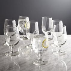 Shop Boxed Water Goblets, Set of 8. Entertaining essentials for stylish sipping. It's never too soon to stock up on the dinner and party basics that you'll use throughout the year for planned and impromptu entertaining.