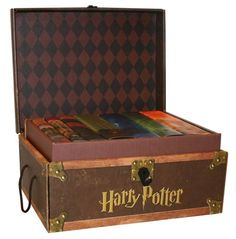 Harry Potter Boxed Set. I got this for Christmas from my husband and the books have never come out. It's my set that I will hold until, well probably forever.