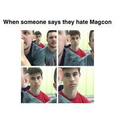 Literally me, MagCon Boys