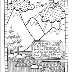 joshua 24 coloring pages - photo#22