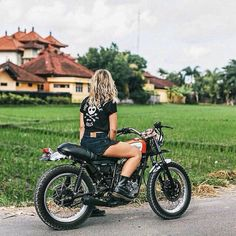 overboldmotorco: @thethrottledolls on a @deustemple bike in...  overboldmotorco:  @thethrottledolls on a @deustemple bike in Bali. Shot by @atdusk  Got some photos of your Cafe Racer or Cafe Racer related accessories that you want us to feature?  Get in touch with us wed love to hear from you. Tag us @caferaceraustralia or.. Email us: caferaceraustralia@gmail.com  #CafeRacer #Honda #Yamaha #Triumph #Ducati #BMW #BSA #KTM #Kawasaki #Suzuki #CafeRacers #Motorcycles #Motorbikes #Retro…