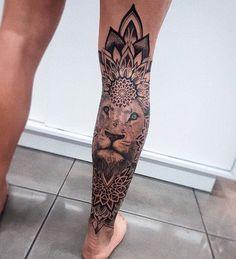 Pin by 𝖊 𝖘 𝖙 𝖍 𝖊 𝖗 ★ on tattoos tatuajes muslo, tatuajes pierna, prim Neue Tattoos, Body Art Tattoos, Girl Tattoos, Tattoos For Guys, Tatoos, Maori Tattoos, Woman Tattoos, Borneo Tattoos, Flash Tattoos