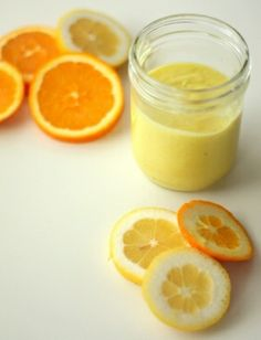 DIY Citrus Hand and Body Scrub - made this and it works great without drying out your skin. next time i will make it with sugar instead of salt...salt burns if you have and cuts on yours hands ;)
