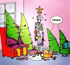 #Christmas from the other side.