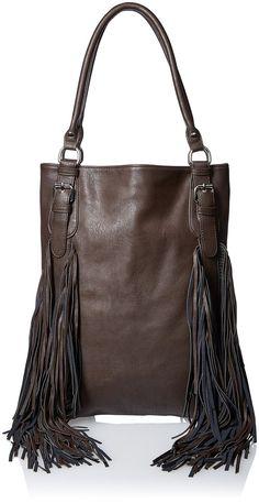Urban Originals Crazyheart Shoulder Bag, Gunmetal, One Size: Handbags: Amazon.com