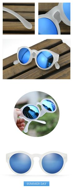 #Suit your face sunglasses Round sunglasses protective blue polarized lens translucence frames fashion sunglasses #Polarized sunglasses #Protective #Translucence #fashion sunglasses Visit - FUNMEMO.COM  to see More