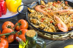 Paella Valenciana (135pixels Eduardo Gonzalez / Barcelona / Spain) #Canon EOS 5D Mark III #food #photo #delicious
