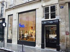 c526ad3b68 Carhartt Store Paris Le Marais | Carhartt WIP My husband's favorite store. Carhartt  Store,