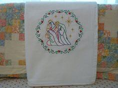 Three Wise Men Flour Sack Dish Towel by SugarHillEnterprises