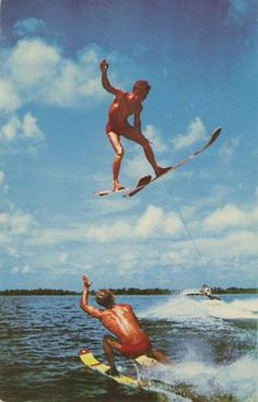 Don T Try This At Home Winter Haven Florida Cypress Gardens Wakeboarding