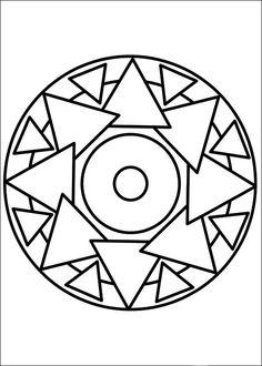Målarbilder Mandalas 10