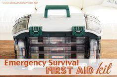 How to put together an emergency survival First Aid Kit - A Bowl Full of Lemons
