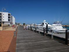 Seaside Boardwalk, Geraldton, Western Australia,